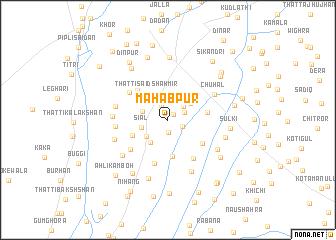 map of Mahabpur