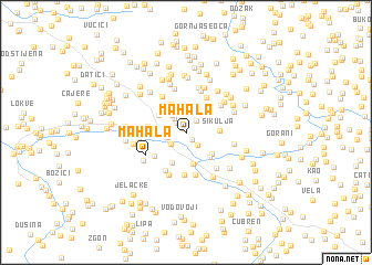 map of Mahala