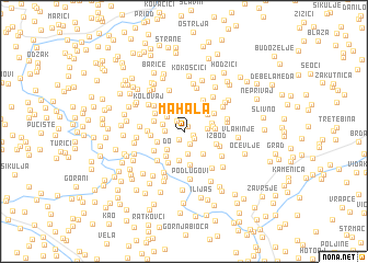map of Mahala