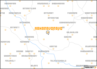 map of Maharavoravo