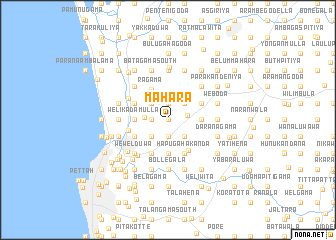 map of Mahara