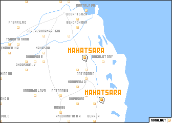 map of Mahatsara