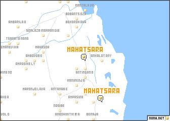 map of Mahatsara