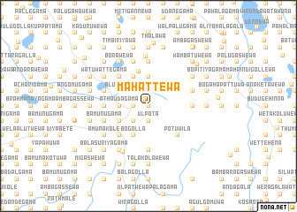 map of Mahattewa