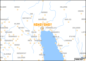 map of Mahayahay