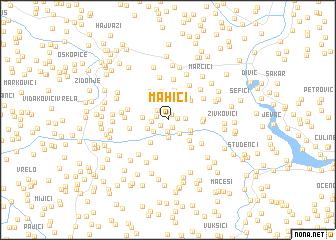 map of Mahići
