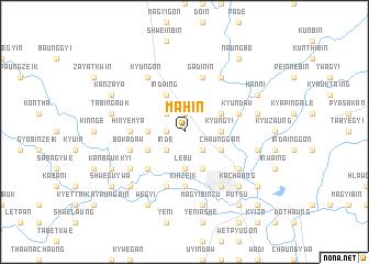 map of Mahin