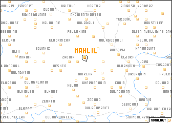 map of Mahlil