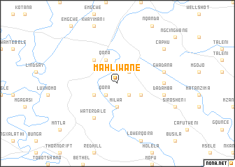 map of Mahliwane
