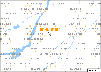 map of Mahlwabin
