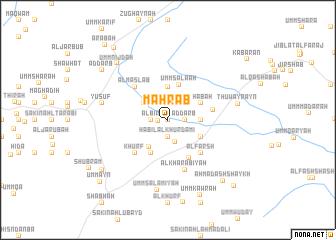 map of Maḩrab