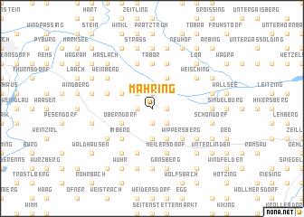 map of Mähring