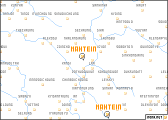 map of Mahtein