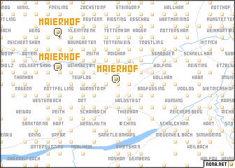 map of Maierhof