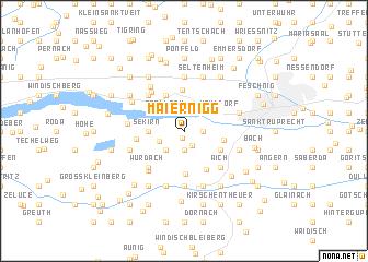 map of Maiernigg