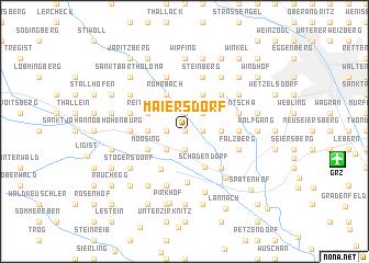 map of Maiersdorf