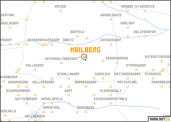 map of Mailberg