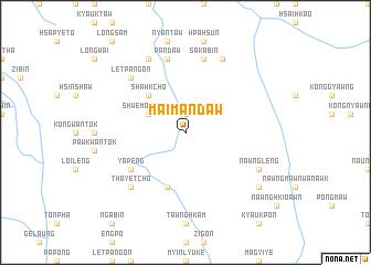 map of Maimandaw