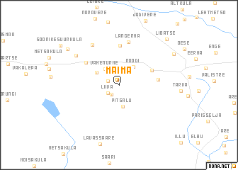 map of Maima