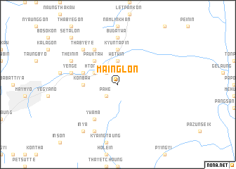 map of Mainglon