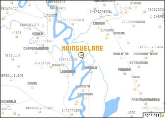 map of Mainguelane