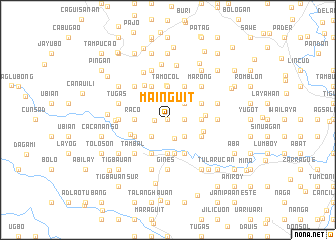 map of Mainguit