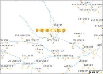 map of Mainhartsdorf