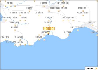Maiori Italy Map.Maiori Italy Map Nona Net
