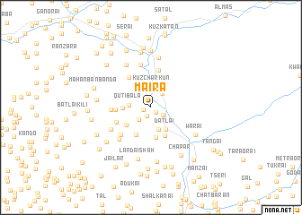 map of Maira