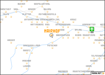 map of Mairhof