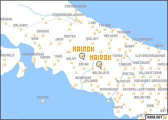 map of Mairok