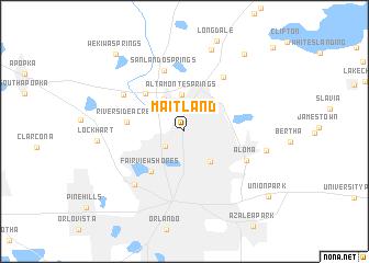 Maitland Florida Map.Maitland United States Usa Map Nona Net