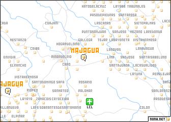 map of Majagua