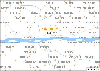 map of Majdany