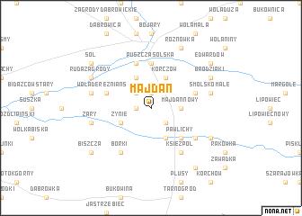 map of Majdan