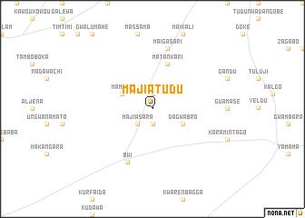 map of Majiatudu