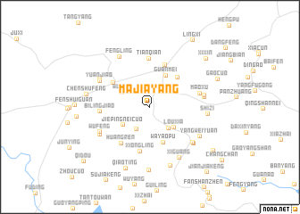 map of Majiayang