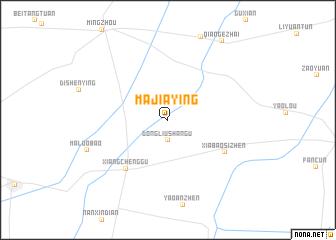 map of Majiaying