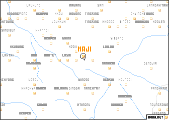 map of Maji