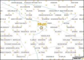 map of Majki