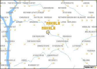map of Makala