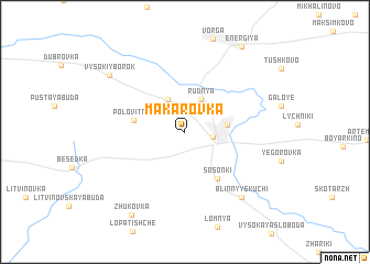map of Makarovka