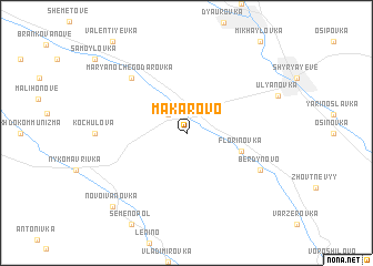 map of Makarovo