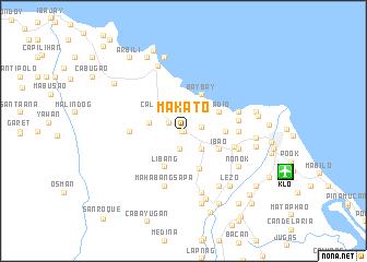 Makato (Philippines) map - nona.net