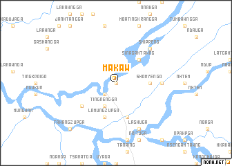 map of Makaw