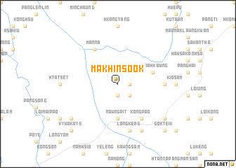 map of Makhinsook