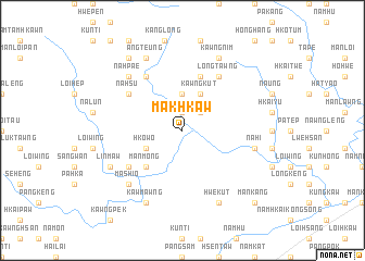 map of Makhkaw