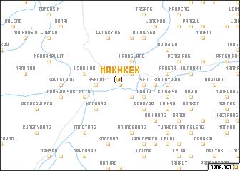 map of Makhkek