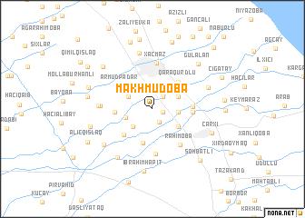 map of (( Makhmudoba ))