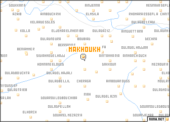 map of Makhoukh